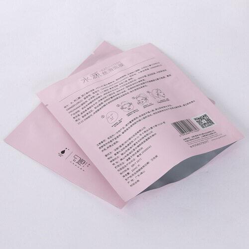 Amazon Hot Selling Moisture Proof Aluminum Foil Face Pack Bag Plastic Film Blowing Custom Printed Face Mask Bag