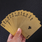 Waterproof PET material spot goods gold foil painted card game card poker set game accessories home entertainment playing card