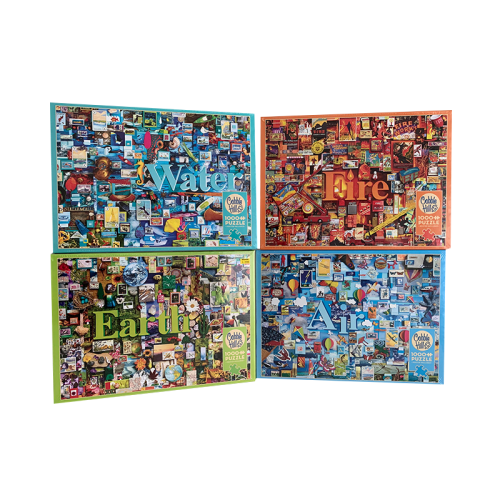 Wholesale Kids Baby Educational Gift Sets Colorful Printing Game Puzzle 1000 Pcs