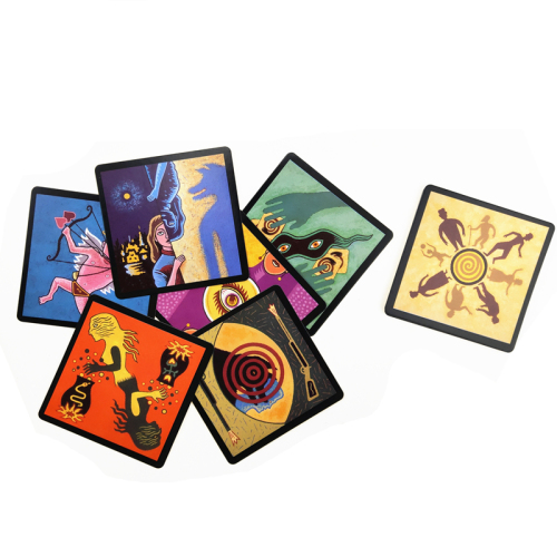 Customized High quality financing family playing cards board  game for home party adult