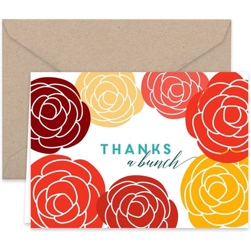 Folding Fashion Decoration Note Card Wholesale Custom Recycle Thank You Cards for Gift