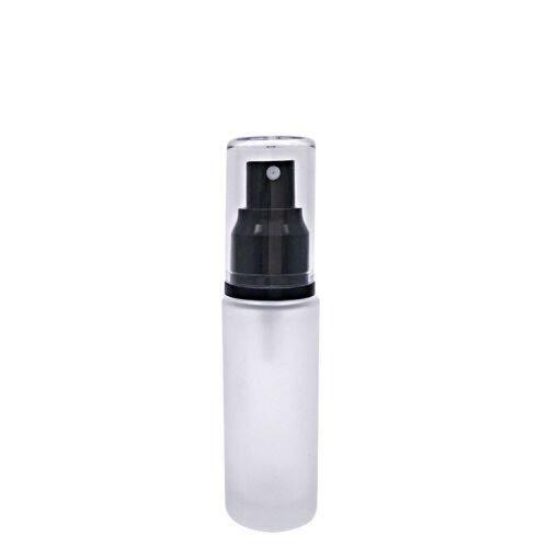 Custom stock spray glass bottles 10 ml/30 ml/50 ml frosted cosmetic glass bottles