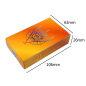 Customized Tarot Cards Printing Gold Gilt Edges Black Oracle Cards Set