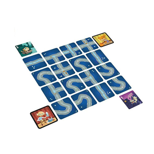 Customized  board game kitten cat strategy maze card game for kids gifts family party table game