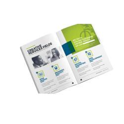 Custom cheap A3 A4 A5 Brochure / Leaflet / flyers/ Catalogue Printing
