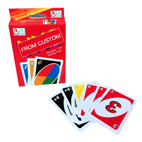 Spot wholesale cross-border foreign trade Yonoro board game card playing card game card can be customized