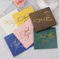 Amazon New Style Paper Cards Thank You Cards Custom With Logo Design For Small Business Gift Card Packaging Sets