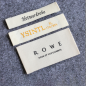 Personalized Custom Clothes Private Brand Cloth Woven Label Tag