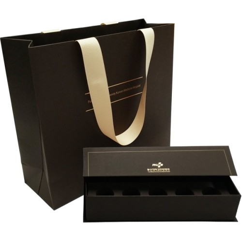 Hot selling cosmetic gift box custom cosmetic  box with bag