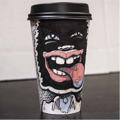 Wholesale 2.5OZ-24 OZ Disposable Single Wall Coffee Paper Cups With Lids