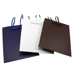 2017 High Quality Printed Paper Gift Packaging Bags Small Jewelry Bags Wholesale