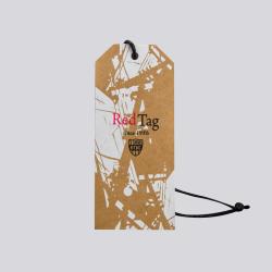 Clothing hang tag customized printed oem logo garment label for clothing/garment hang tag with string