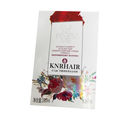 High quality flexo label paper and plastic over-printable graphics clear high speed cold foils