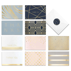 Smart Scribble Thank You Cards With Envelopes Assorted Thank You Cards Designs With Matching Stickers and White Envelopes
