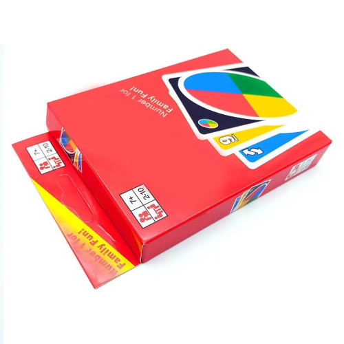 Customized board game Unocal card with penalty card party multiplayer playing card spot wholesale