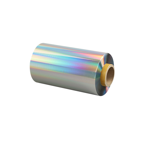 Premire quality flexo Rainbow holograhic laser  label paper and plastic over-printable high speed cold foils