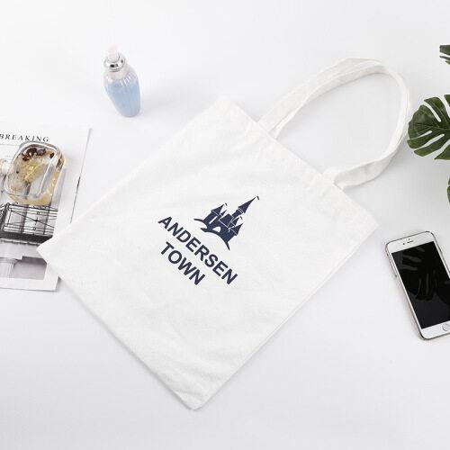 Wholesale custom high quality cotton bag printing own design logo shopping bag