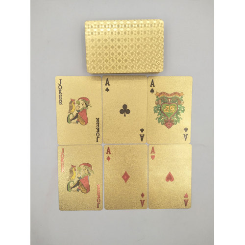 High quality customized waterproof playing cards game printing card game manufacturer maker
