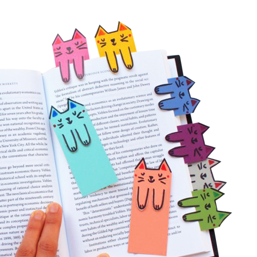 Wholesale Design Recycled Paper Light Bookmark Magnetic Bookmark