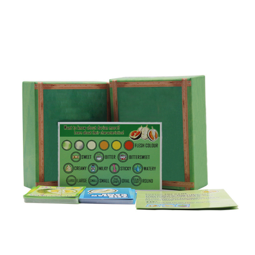 Professional custom paper card game set multi - player Durian board game manufacturers direct sales