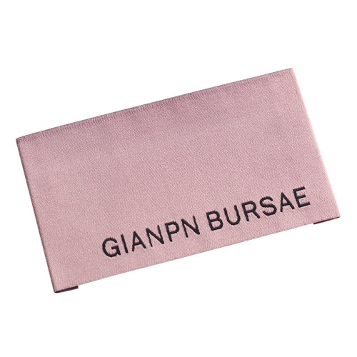 clothing labels sew on garment woven fabric label