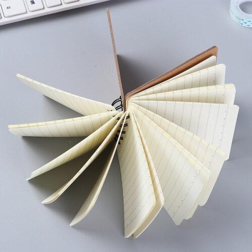 Small Size Cheap Bulk Bank Notepad Spiral Binding Kraft Paper Cover Cute Design Custom Mini Notebook