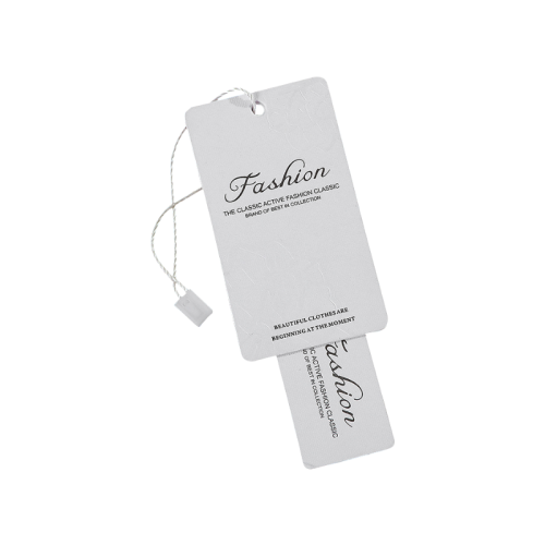 Custom premium luxury Hand tag Hang paper Tag And price tag for Christmas gift