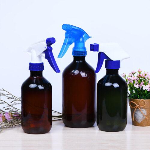 Professional custom different colors glass water bottle 100/300/500 ml fine mist spray bottles