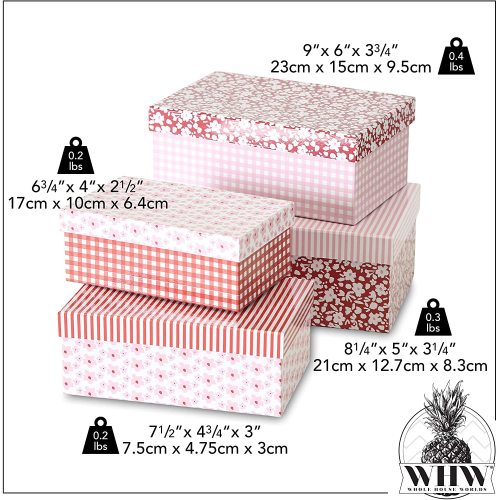 Creative cardboard gift packaging paper box for birthday wedding Christmas Mother Father custom