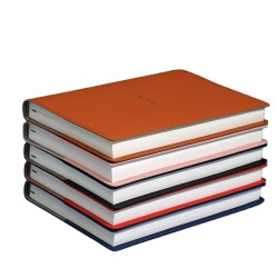 Custom Design Notepad OEM A4/A5/A6 Pu Leather Notebook Cheap Price New Diary Paper Printed