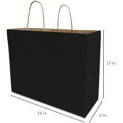 Cheap Custom Brown Kraft Paper Shopping Bag