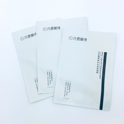 Laminated 200 micron plastic film custom made Fashion Resealable laminated vacuum package face pack bags