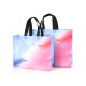 Promotional customized large capacity grocery tote pp non woven supermarket shopping bag