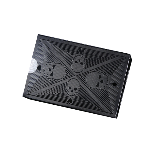 Black skeleton color printing paper cards home board game poker set gift card  card playing