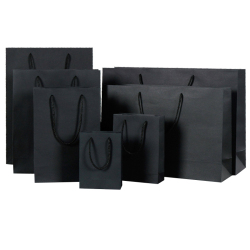 Custom size paper bag for restaurant with free logo printing
