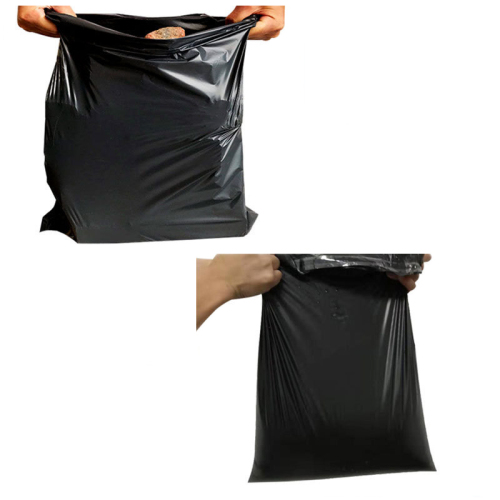 Custom Durable Eco Friendly Shipping Mailing Bags Biodegradable Black Mail carrier Bags