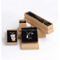 Offset printing recycled Kraft paper jewelry boxes