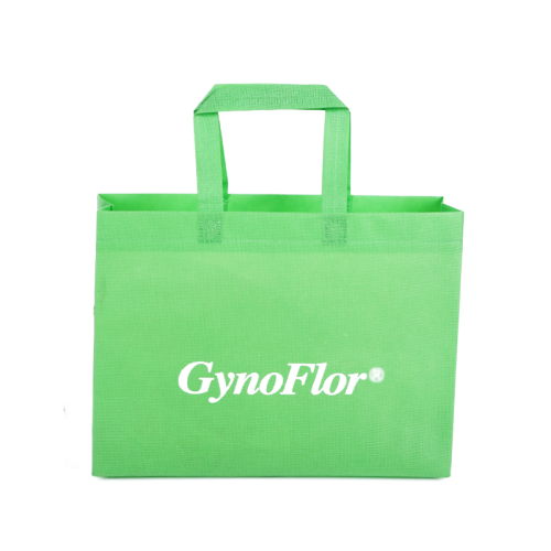 Cheap price pp non woven stock bags custom logo accepted promotional grocery bags