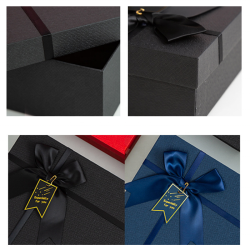 Wholesale Customized Packaging Paper Box Luxury Design Gift Packing Large Paper Box With Bow-knot
