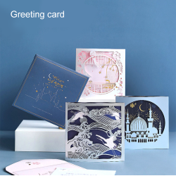 2021 Happy Birthday Graduation Greeting Card Hollow out creative Gift Postcard Gift Thank You Cards