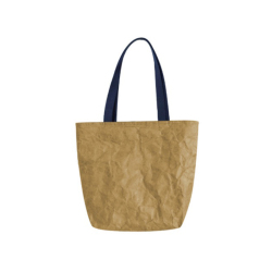 Tear resistant durable dupont washable tote bag with zipper
