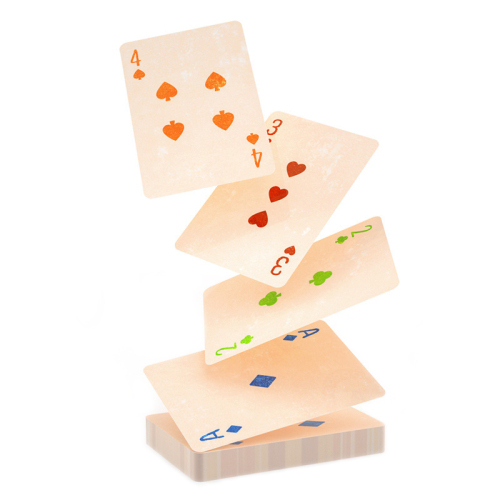 Puzzle Card Party Animal Early Education Board Game Exercise Children Logo Custom Printed Paper Card Toy Wholesale