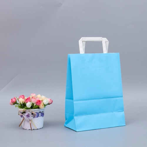 Wholesale Fashionable Hot Sale Gift Packaging Recycle Kraft Paper Bag