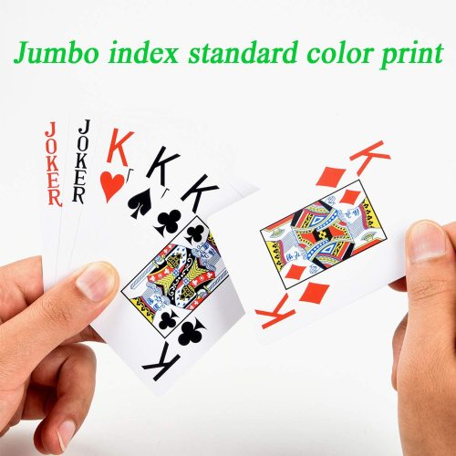 Customized high quality family party paper printed playing cards for adults