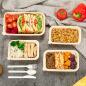 Hot Selling Factory Wholesale Big Capacity Food Grade Custom Salad Lunch Box