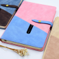 New Design Office Supplies Colorful Leather Notebook With Button Journal Planner Business Custom Logo Notebook