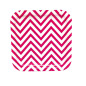 Sugarcane Raw Material Disposable Wave Printed Dark Purple Square Shape Dinner Plates