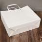Customised Premium White Kraft Paper Bags with Handles