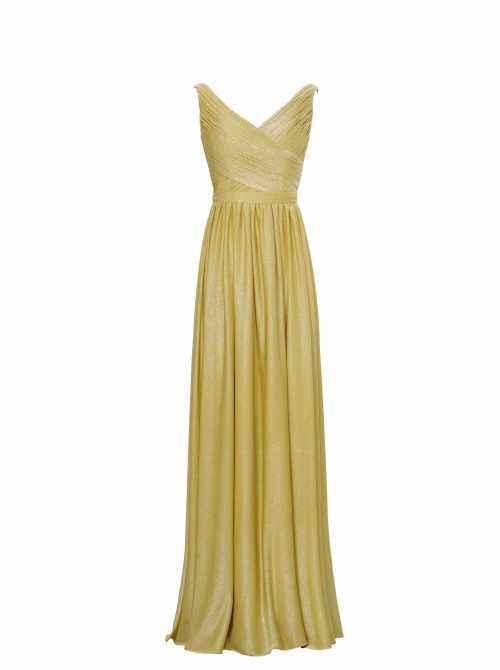 Gold Bridesmaid Dresses