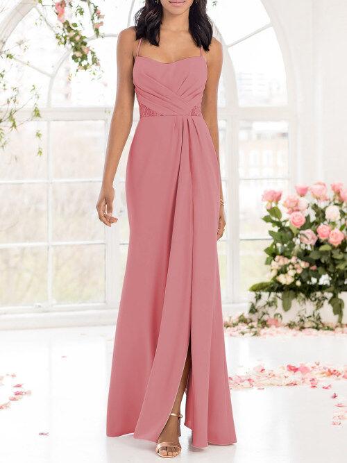 Dusty Rose Bridesmaid Dresses